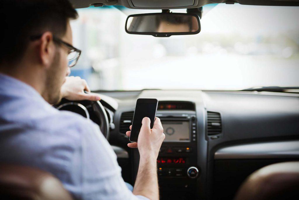 טלפון נייד בנהיגה 2019