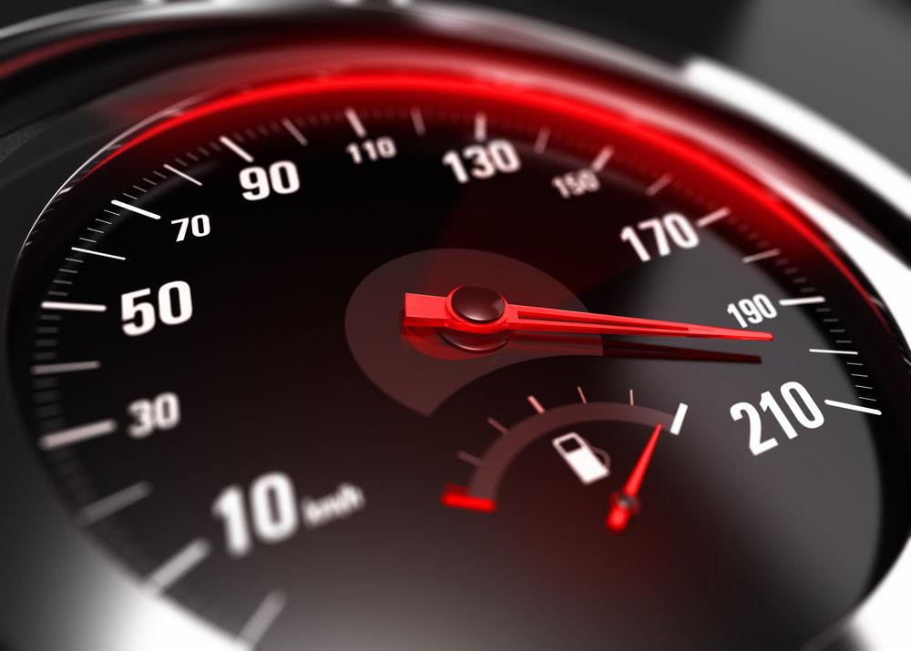 מהירות מופרזת נהג חדש
