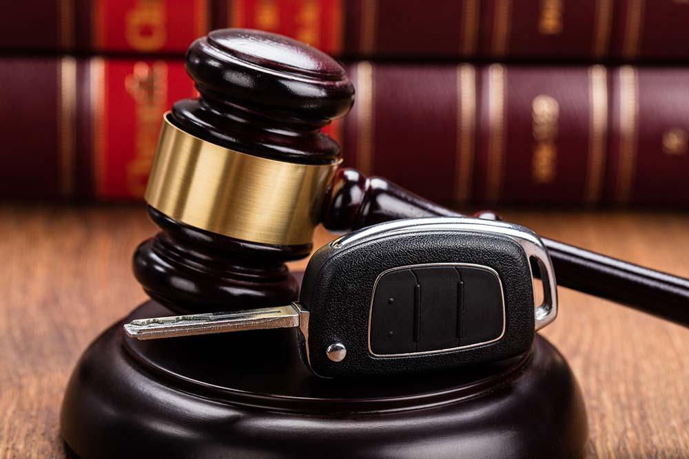 שופט נתפס בעבירת תנועה
