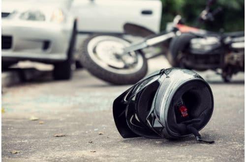 תאונה עם אופנוע